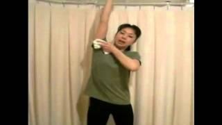 コウヅ式体質改善ダイエット「リンパ体操腕編」のやり方