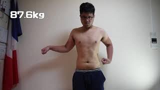 ダイエットを始めて一か月の経過。