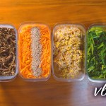 VLOG#2 土日に作る1週間分の常備菜「4色ナムル 」meal prep for weekdays made on weekend