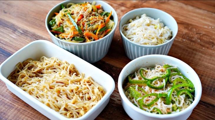 【超低カロリー】しらたきで激うまレシピ4選【作り置き・ダイエットにオススメ】|SUB