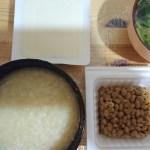 ファスティング回復食二日目夜、納豆を食べてみた。
