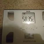 糖質制限25日目の体重。ファスティング開始!