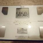 ファスティング終了後、翌日朝の体重。何キロ痩せた?