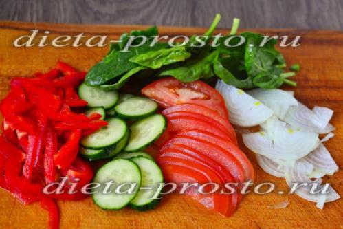 Fisch- und Hühnerdiät zum Abnehmen