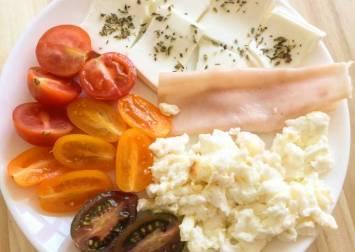 desayuno variado cetogénico