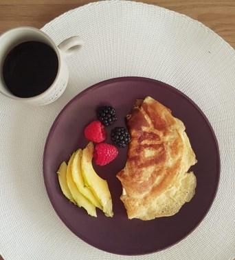 desayuno cetogénico con huevo