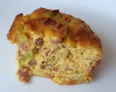 pastel de bacon y puerros