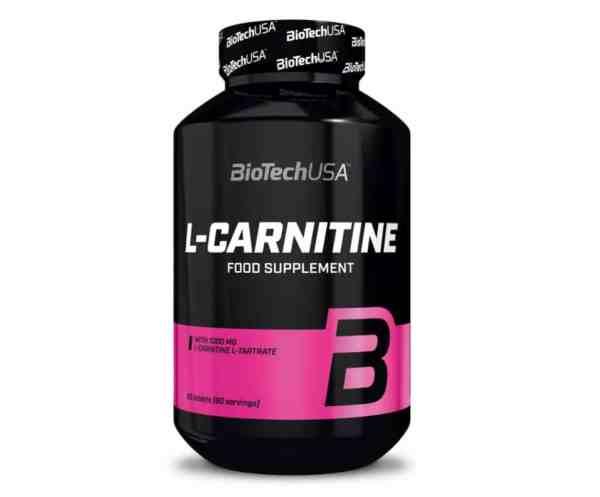 l-carnitine biotech 60 tabs