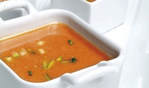 La receta del gazpacho
