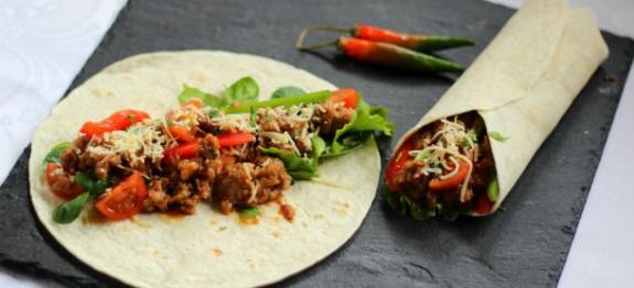 Receta de Burritos