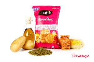 Snatt's Natuchips puro sabor y bajas calorías