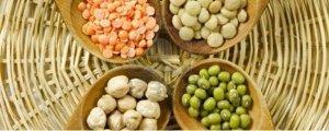 las verduras proteicas