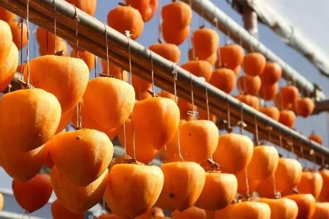 干し柿ダイエットの効果的なやり方!気になるカロリーは?