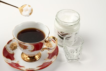 コーヒーとココナッツオイル