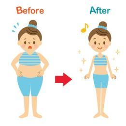 全身を引き締める効果的な方法は?【脂肪を落とすならダイエット!】