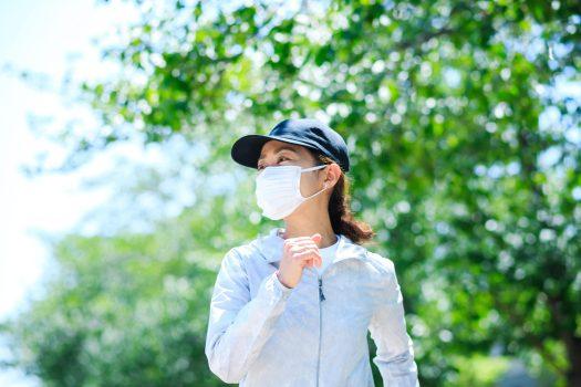 マスク ジョギング 女子