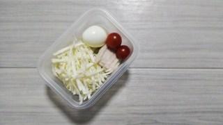野菜 卵 チキン
