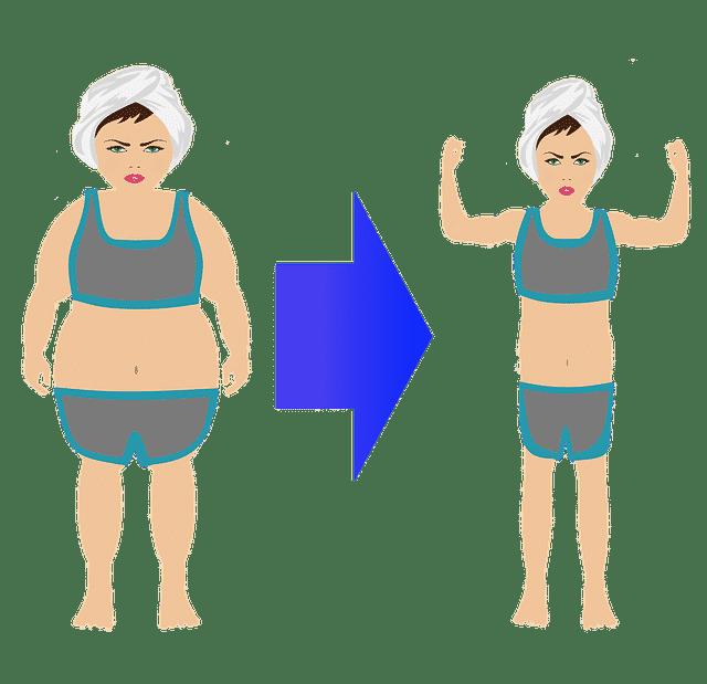 femme qui a fait du sport pour maigrir avantaprès