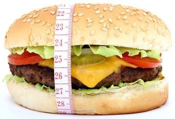 éviter de manger des hamburger et de la malbouffe pour perdre la graisse abdominale