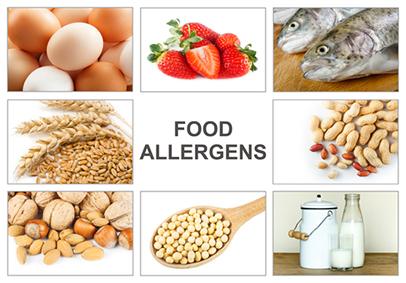 Food Allergens Poster