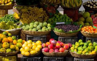 Fruits Market Colors