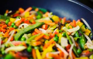 Vegetables Frying Pan Greens