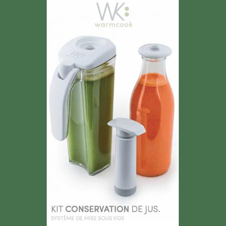 kit de conservation sous vide warmcook