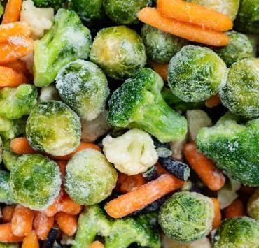 mrożone jedzenie