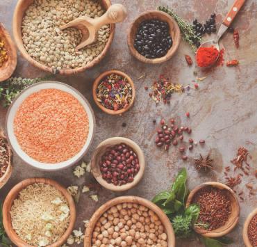 nasiona roślin strączkowych