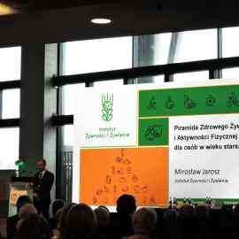Prezentacja piramidy podczas kongresu IŻŻ, fot. dietetycy.org.pl
