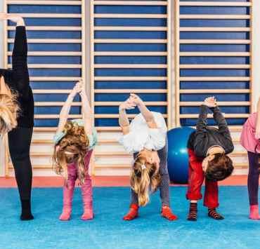 zwiększenie aktywności fizycznej wśród dzieci