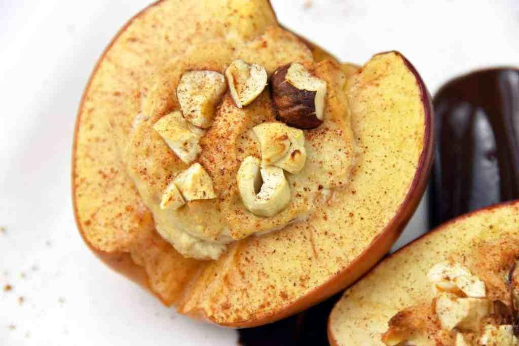 Jabłka pieczone z serkiem