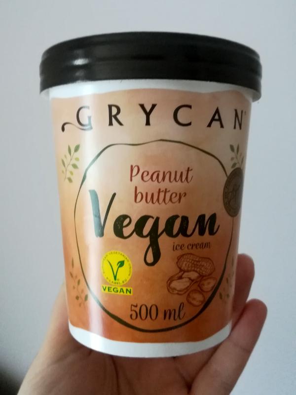 Lody Grycan vegan arachidowe - Inspekcja dietetyczna #1