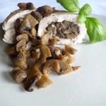 Dietetyczne rolady z kurczaka z pieczarkami 300 kcal