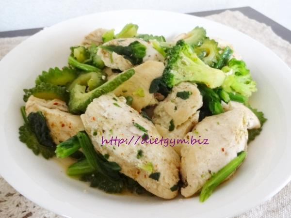 鶏胸肉のタイ風炒め糖質制限レシピ