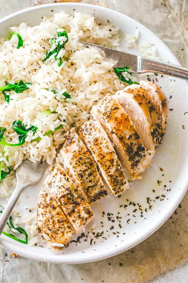 Easy Baked Chicken Breasts | How to Make Tender & Juicy ...