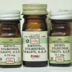 DES diethylstilbestrol exposure via drugs bottles image