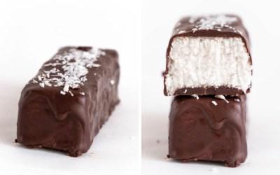 Healthy No Bake Keto Coconut Bars
