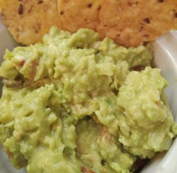 Vegan, plant-based, vegetarian, sides, mexican, easy, egg-free, dairy-free, nut-free, gluten-free five-minute guacamole recipe