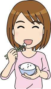楽しく食べる