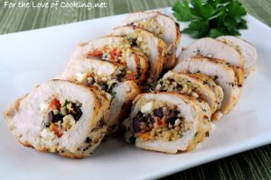 Greek Style Stuffed Chicken