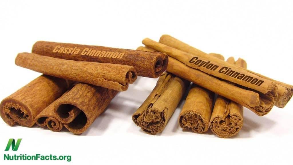 cynamon cejloński jest lepszy pd cynamonu chińskiego