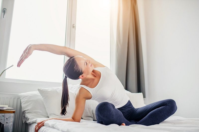 Boost Weight Loss and Improve Sleep with this Before-Bed Workout Routine