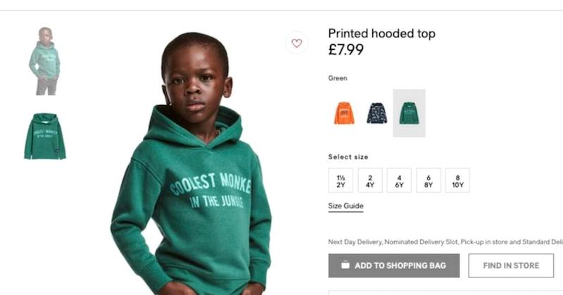 H&M coolest monkey in the jungle