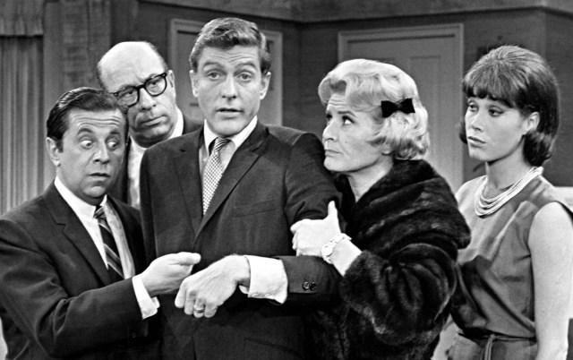 Il cast di The Dick Van Dyke Show