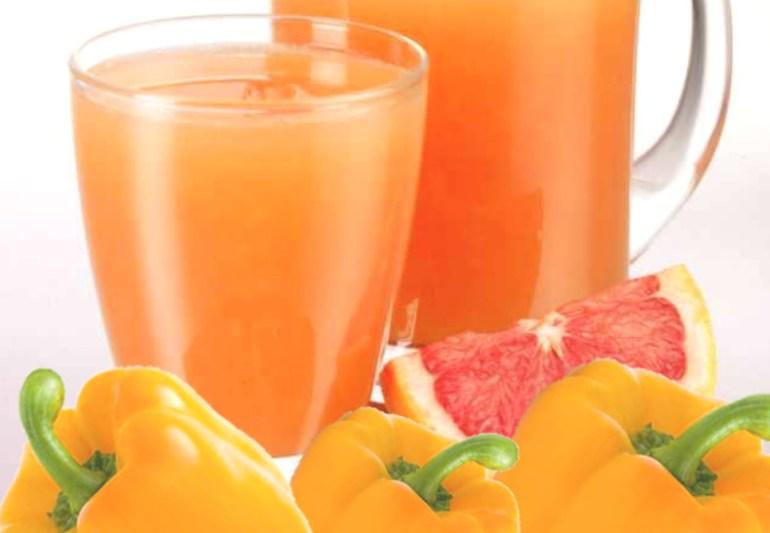 pepper grapefruit juice
