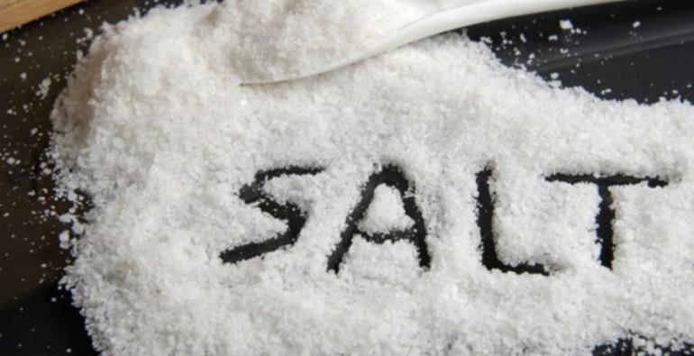 much salt
