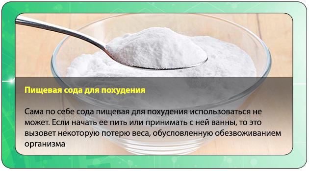 похудеть с помощью соды рецепты рецептов