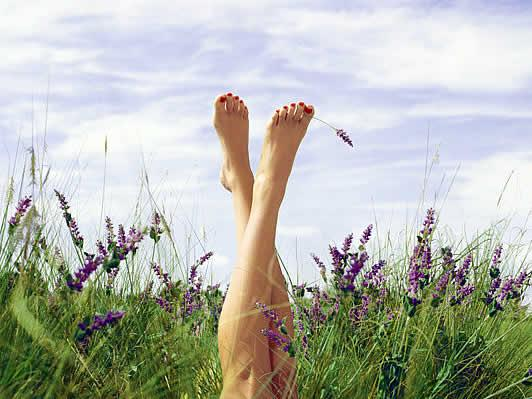 legs-upwards-glade-grass