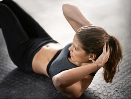 お腹の脂肪を短期即効でとる女性の筋トレエクササイズ7選!
